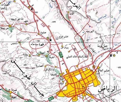 منتدى كنوز ودفائن الوطن عرض مشاركة واحدة خريطة منطقة الرياض و