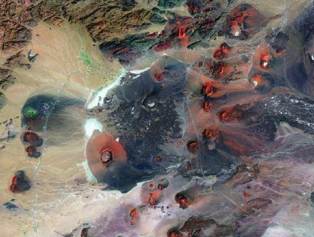 قرية طابه القديمه Volcano