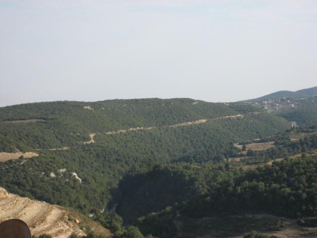 جبال الساحل السوري صور صلنفة وسهل الغاب من جبل الشعرة Mk14425_img_0483