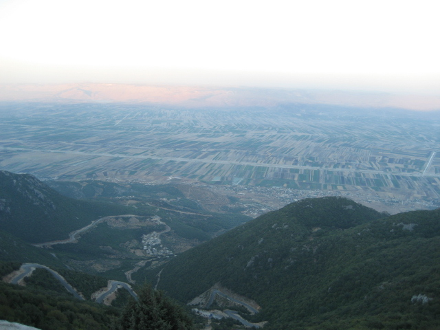 جبال الساحل السوري صور صلنفة وسهل الغاب من جبل الشعرة Mk14425_img_0517