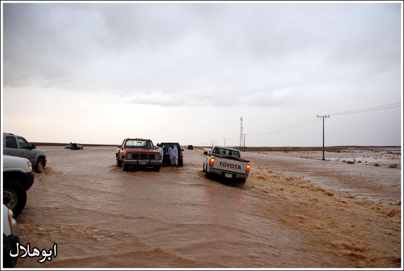 الخميس وأمطار جنوب القصيم الغزيرة