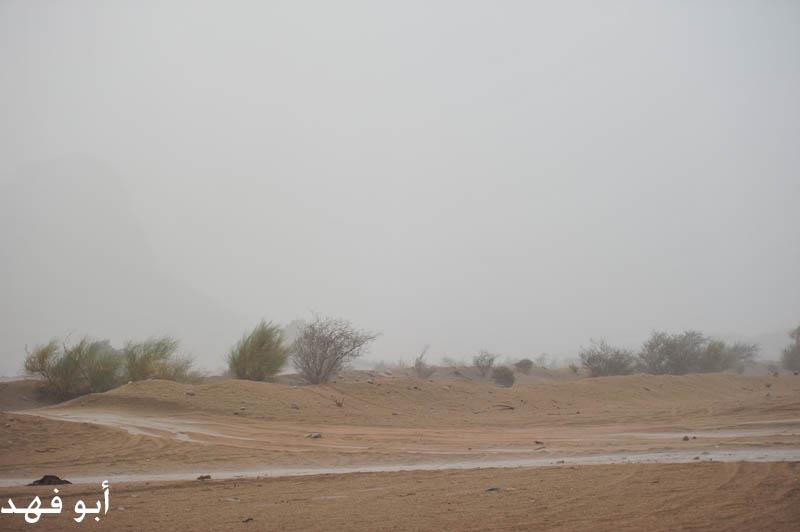 الأمطار الغزيرة جنوب المكرمة اليوم