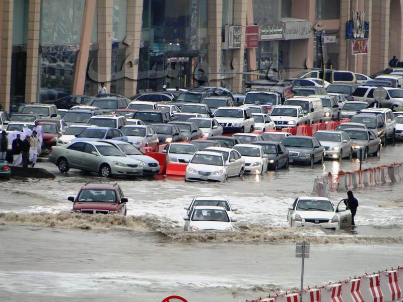 مناظر مؤسفة بالعاصمة الرياض