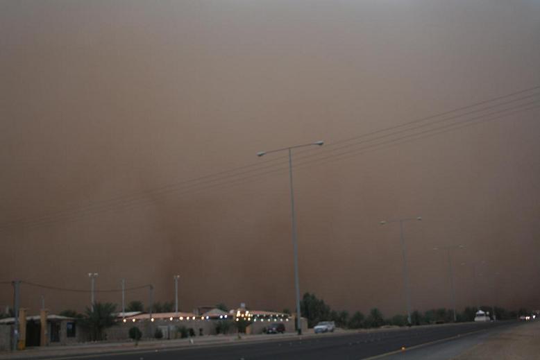 فيديو لعاصفة عنيزة الخميس