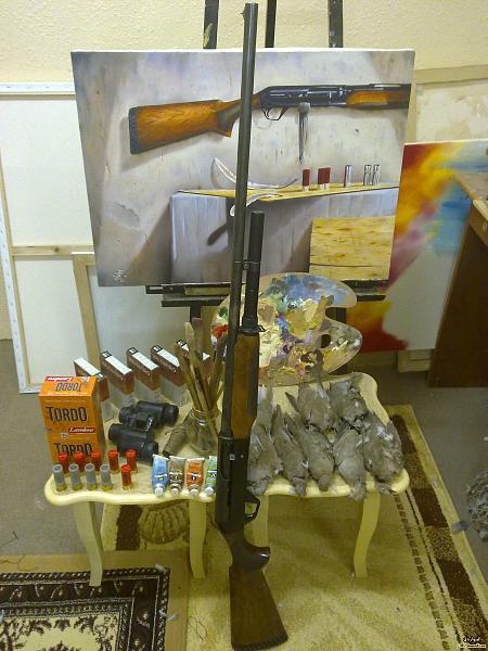 لأنواع أسلحة الصيد الحديثة