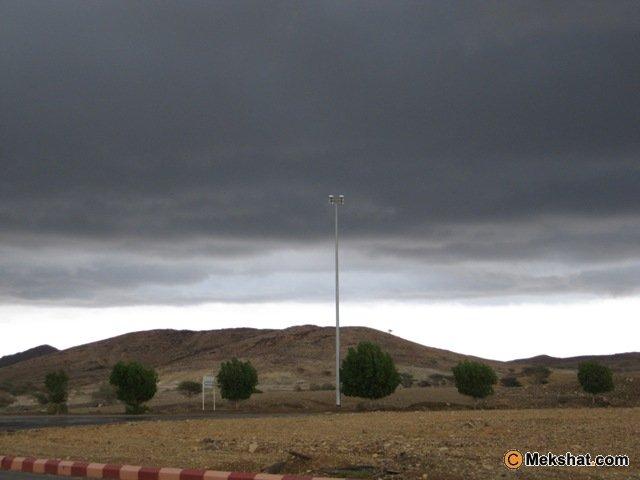 صورمن امطار محافظة الذهب